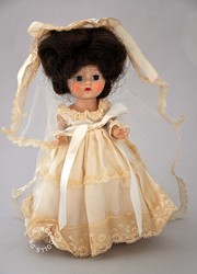old bride doll
